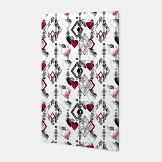 Love , Valentine's day , red , heart , wedding Canvas thumbnail image