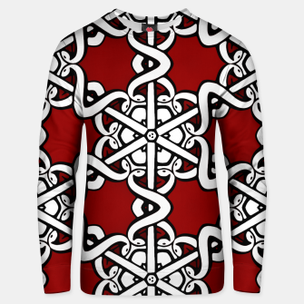 Thumbnail image of Snake Head Interlink Unisex sweater, Live Heroes