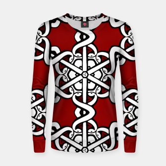 Thumbnail image of Snake Head Interlink Women sweater, Live Heroes