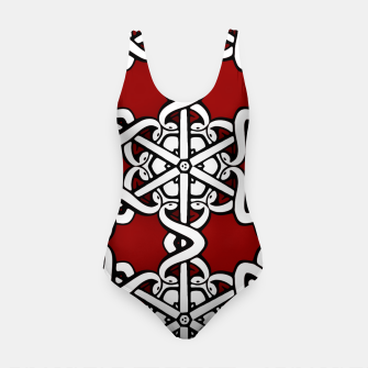 Thumbnail image of Snake Head Interlink Swimsuit, Live Heroes