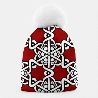 Thumbnail image of Snake Head Interlink Beanie, Live Heroes