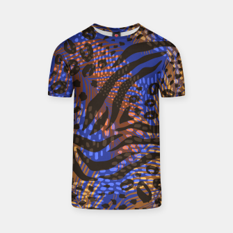 Thumbnail image of Modern abstract Animal Print T-Shirt, Live Heroes