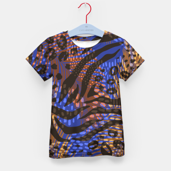 Thumbnail image of Modern abstract Animal Print T-Shirt für kinder, Live Heroes