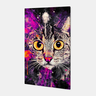 Thumbnail image of cat big eyes wslsh Canvas, Live Heroes