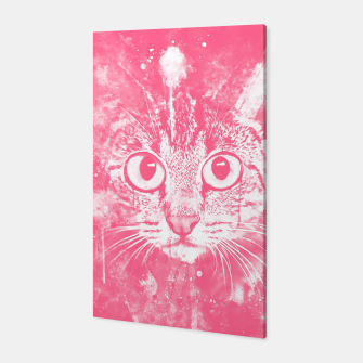 Thumbnail image of cat big eyes wspw Canvas, Live Heroes