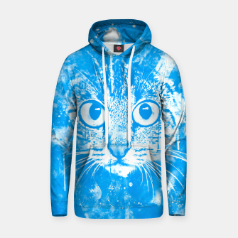 cat big eyes wswb Hoodie thumbnail image