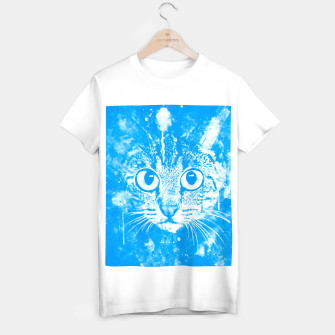 cat big eyes wswb T-shirt regular thumbnail image