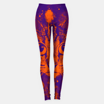 Thumbnail image of cat big eyes wsvo Leggings, Live Heroes