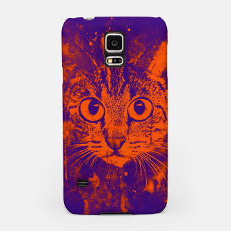 Thumbnail image of cat big eyes wsvo Samsung Case, Live Heroes