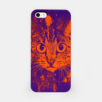 Miniature de image de cat big eyes wsvo iPhone Case, Live Heroes