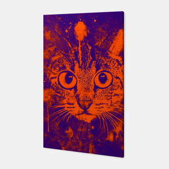 Thumbnail image of cat big eyes wsvo Canvas, Live Heroes