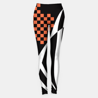 Miniaturka Racing Orange Leggings, Live Heroes