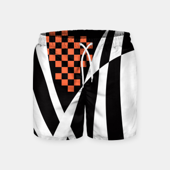 Miniaturka Racing Orange Swim Shorts, Live Heroes