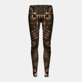 Thumbnail image of Mech Tech WPO Girl's leggings, Live Heroes