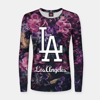Thumbnail image of Los Angeles Women sweater, Live Heroes
