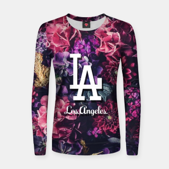 Los Angeles City Skyline Women sweater thumbnail image
