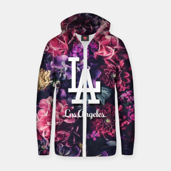 Los Angeles City Skyline Zip up hoodie thumbnail image
