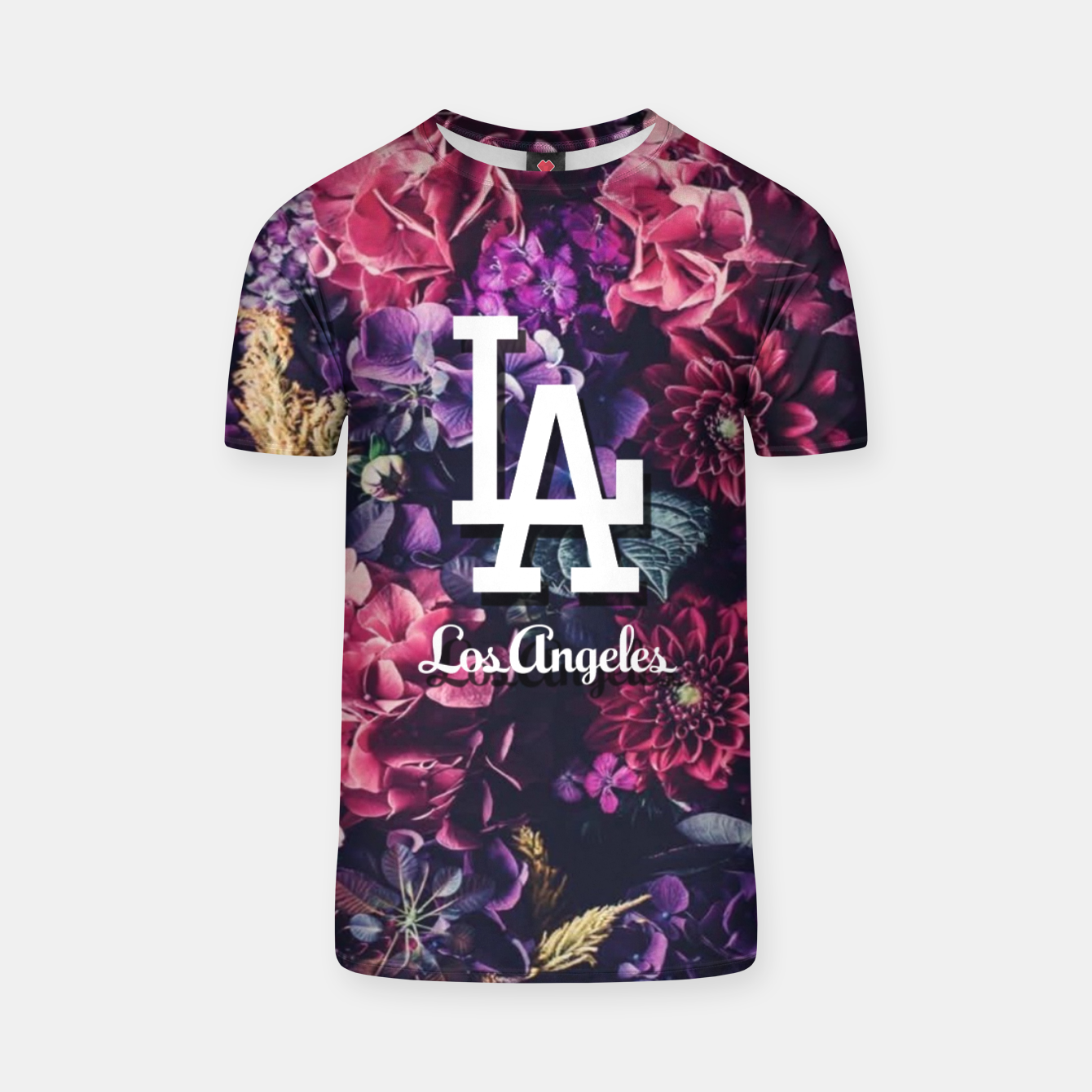 Zdjęcie Los Angeles City Skyline T-shirt - Live Heroes