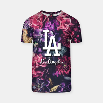 Los Angeles City Skyline T-shirt thumbnail image