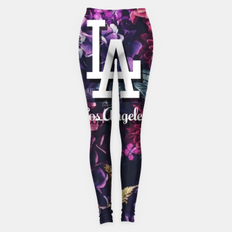 Los Angeles City Skyline Leggings thumbnail image
