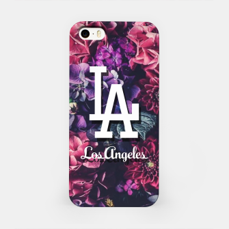 Los Angeles City Skyline iPhone Case thumbnail image