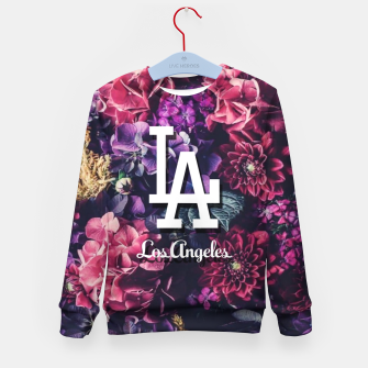 Los Angeles City Skyline Kid's sweater thumbnail image