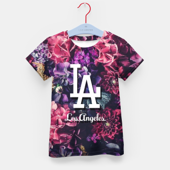 Los Angeles City Skyline Kid's t-shirt thumbnail image
