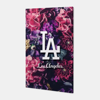 Los Angeles City Skyline Canvas thumbnail image