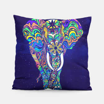 Thumbnail image of Not a circus elephant 2019 by #Bizzartino Pillow, Live Heroes