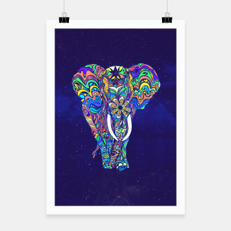 Thumbnail image of Not a circus elephant 2019 by #Bizzartino Poster, Live Heroes