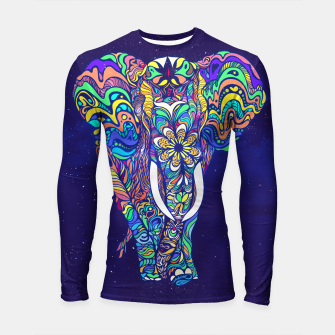 Thumbnail image of Not a circus elephant 2019 by #Bizzartino Longsleeve rashguard , Live Heroes