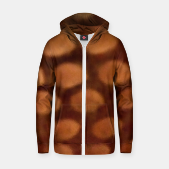 Thumbnail image of Peanut Butter Zip up hoodie, Live Heroes