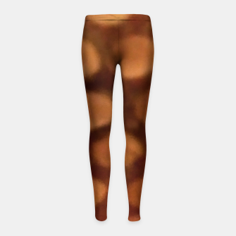 Thumbnail image of Peanut Butter Girl's leggings, Live Heroes