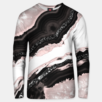Thumbnail image of Agate Glitter Glam #6 #gem #decor #art  Unisex sweatshirt, Live Heroes