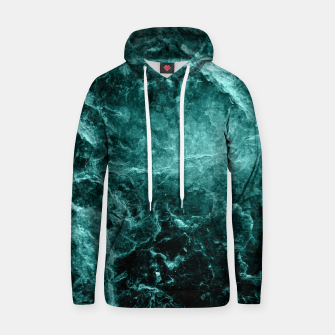 Thumbnail image of Enigmatic Deep Green Marble #1 #decor #art  Kapuzenpullover, Live Heroes