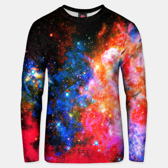 Thumbnail image of Portrait space Sweater, Live Heroes