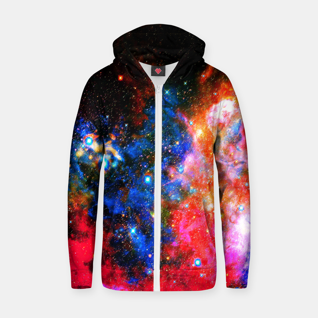 Image of Portrait space Hoodie - Live Heroes
