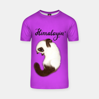 Thumbnail image of Himalayin' (Purple) T-shirt, Live Heroes