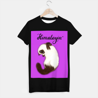 Miniature de image de Himalayin' (Purple) T-shirt regular, Live Heroes