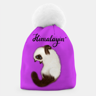 Thumbnail image of Himalayin' (Purple) Beanie, Live Heroes