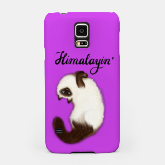 Thumbnail image of Himalayin' (Purple) Samsung Case, Live Heroes