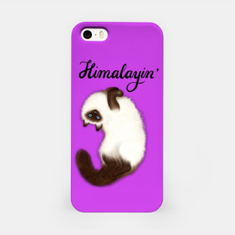 Miniature de image de Himalayin' (Purple) iPhone Case, Live Heroes