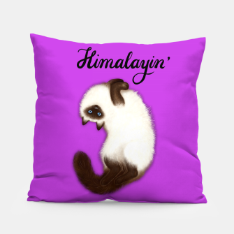 Miniature de image de Himalayin' (Purple) Pillow, Live Heroes