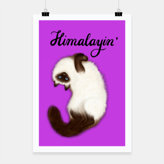 Thumbnail image of Himalayin' (Purple) Poster, Live Heroes