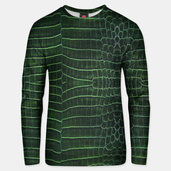 Thumbnail image of Green Crocodile Sweater, Live Heroes