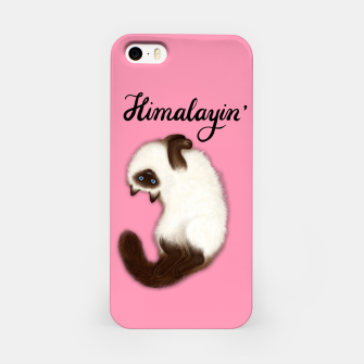 Thumbnail image of Himalayin' (Pink) iPhone Case, Live Heroes