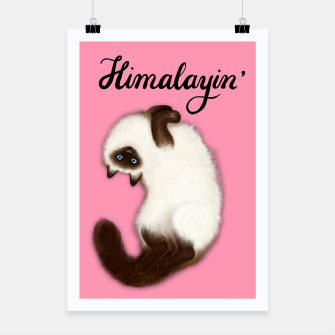 Thumbnail image of Himalayin' (Pink) Poster, Live Heroes
