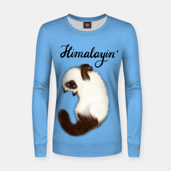 Thumbnail image of Himalayin' (Blue) Women sweater, Live Heroes