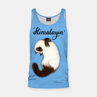Thumbnail image of Himalayin' (Blue) Tank Top, Live Heroes