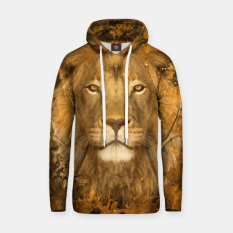 Thumbnail image of Brown Lion Sweater, Live Heroes